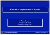 Model-based Diagnosis of HVAC Systems