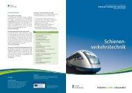 Schienenverkehrstechnik - Wirtschaft – Stadt Eberswalde
