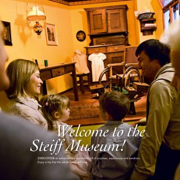 Welcome to the Steiff Museum!