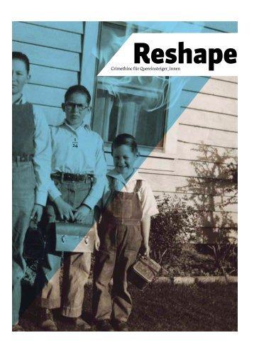 Reshape PDF - Crimethinc [DE] - blogsport.de