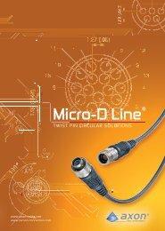 Micro-D Line® - Axon