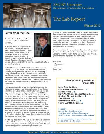 a lab report at uni Sample lab assignment below is a sample lab report assignment from a uw-madison bacteriology course we will be using a format for the lab reports which is similar (but modified) to formats for scientific papers.