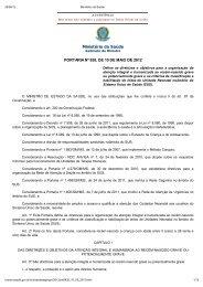 Portaria n° 930 de 10 de maio de 2012 - ABENFO-Nacional