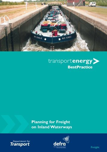 Planning for freight on inland waterways - AINA