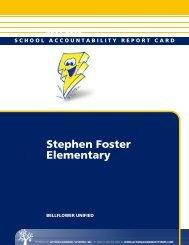 Stephen Foster Elementary - Bellflower Unified School District
