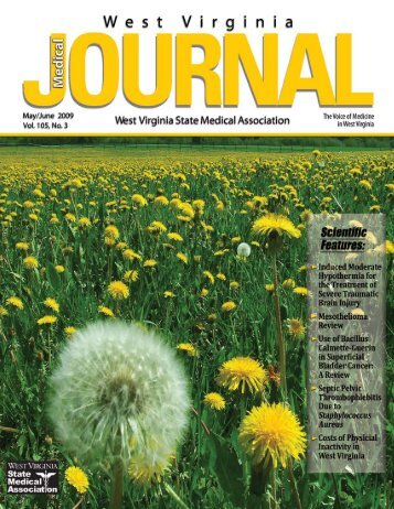 May/June - West Virginia State Medical Association