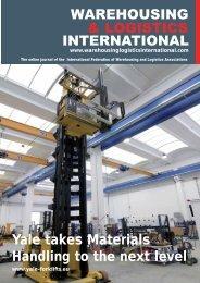 July Issue - Warehousing and Logistics International