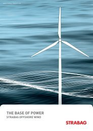 the base of power straba offshore wind - csr - Strabag