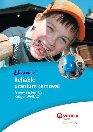 Reliable uranium removal - Krüger WABAG