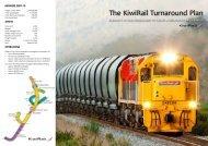 The KiwiRail Turnaround Plan