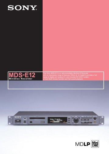 MDS-E12 - ATK Audiotek