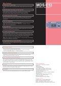 MDS-E12 - ATK Audiotek - Page 2
