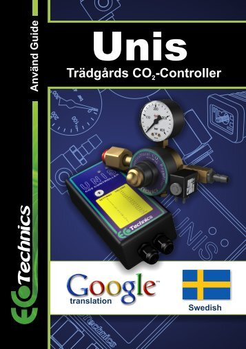 Trädgårds CO -Controller - Ecotechnics
