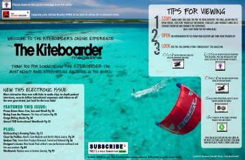 June 2009 Issue of The Kiteboarder Magazine