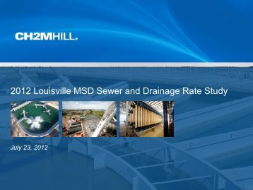 2012 Sewer and Drainage Rate Study - MSD