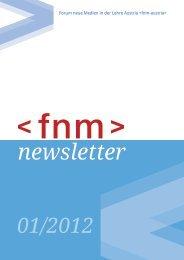Ausgabe 01/2012 - Forum Neue Medien in der Lehre Austria