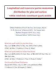 Generalized Parton Distributions - FB19