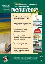 Menuiserie Plus - Magazines Construction
