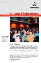 Ausgabe 01/2006 - Wirtschaftsgemeinschaft Hohenems