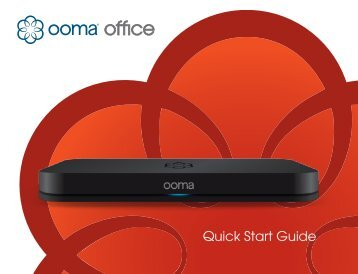 ooma quick start guide pdf