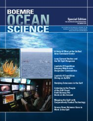 ocean science - the School of Anthropology - University of Arizona