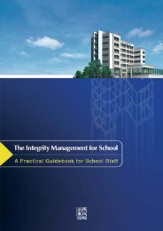 The Integrity Management for Schools