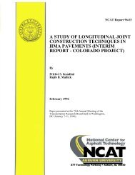 a study of longitudinal joint construction ... - Auburn University