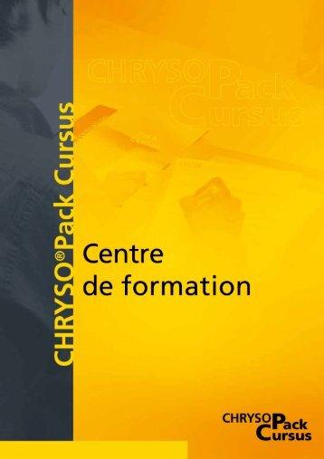 Page 1 Page 2 CHRYSO@ Cursus, Expertise, confort, convivialité ...