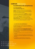 Page 1 Page 2 CHRYSO@ Cursus, Expertise, confort, convivialité ... - Page 4