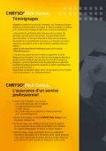 Page 1 Page 2 CHRYSO@ Cursus, Expertise, confort, convivialité ... - Page 5