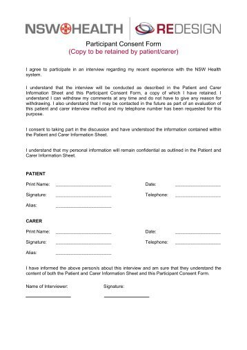 The aaa patient consent form patient consent form template archi altavistaventures Gallery