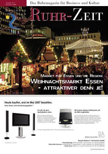Ruhrzeit RZ.indd - business club ruhr ev