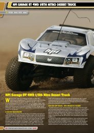 HPI SAvAGE 5T 4WD 1/5TH NITRO DESERT TRUCk - Radio Race ...
