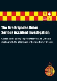 SAI - Fire Brigades Union