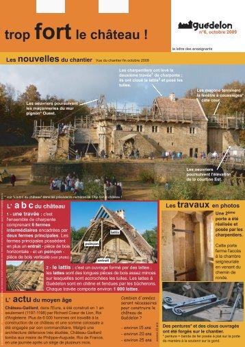 Trop fort le château - Guédelon