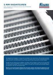 5 mm radiateuren - Nissens