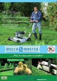 Tondeuse Mulchmaster Série HM - Vert-Tech