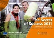 The Secret of Success – 2011 Entrepreneurship beyond Start-Ups ...