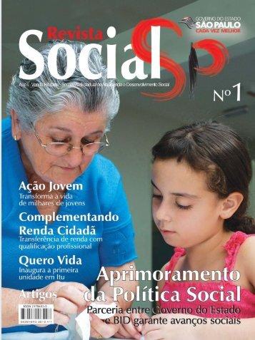 Revista_Seads N1_CORRETA.pmd - Secretaria de ...