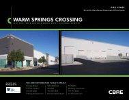 WARM SPRINGS CROSSING - Property Line