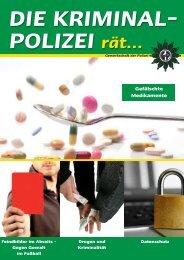 Gefälschte Medikamente - Verlag Deutsche Polizeiliteratur