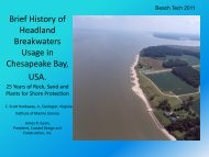 A Brief History of Headland Breakwaters for Shore Protection ... - fsbpa