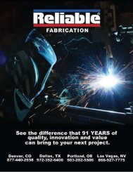 Reliable Fabrication Brochure