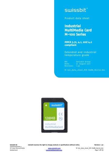 Multimedia card - Swissbit