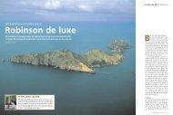 Robinson de luxe - Autarke Inseln - Vladi Private Islands
