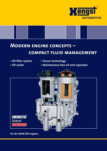 Modern engine concepts - Hengst GmbH & Co. KG
