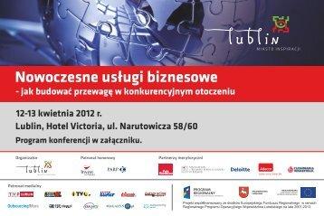 Program konferencji - Lublin