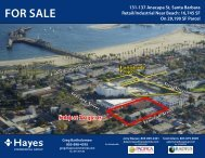 For Sale - Hayes Commercial Group