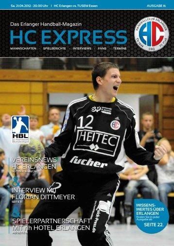 HC EXPRESS - HC Erlangen