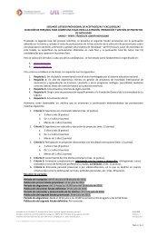 Consulta el listado provisional aquí - Fundación General de la ...